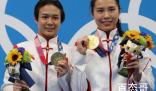 郭晶晶现场为中国奥运冠军拍照 作为前辈的郭晶晶绝对开心的要疯了