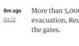 喀布尔机场内仍有超5000人等待撤离 这些人的目的地是哪里?